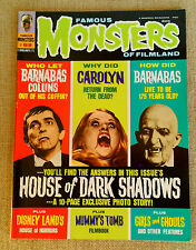 Famous Monsters Of Filmland #82 February 1971 VG+ House of Dark Shadows Barnabas