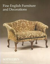 Sotheby's / 7257 Fine English Furniture & Decorations Auction Catalog 1999