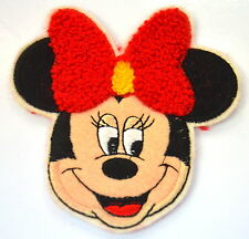 MINNIE MOUSE PLUSH RED BOW DISNEY  Embroidered Sew On Cloth Patch Badge APPLIQUE