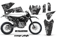 AMR Racing KTM C4 EXC/SX/MXC/SMR Graphic # Plate Kit MX Bike Decal 05-07 CAMO K