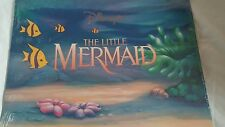 Disney's The Little Mermaid Lithographs Set of 4 Sealed Prince Eric King Triton