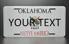 US AUTO USA CAR OKLAHOMA STATE LICENSE PLATE Kennzeichen Nummernschild DEIN TEXT