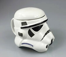 Star Wars Storm trooper Or Darth Vader Helmet Design 3D Ceramic Coffee Mug Cup