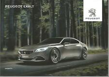 Carte potale Postcard PEUGEOT EXALT 2014 SALON DE L'AUTO PARIS