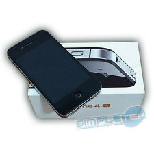 APPLE IPHONE 4S 32GB LIKE NEW BLACK WITH BOX ORIGINAL, ACCESSORIES, WARRANTY
