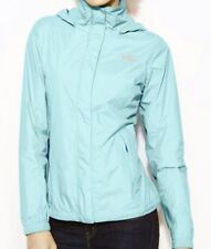 NWT $129 The North Face Women's Pare Rain Jacket Hyvent L ARCTIC BLUE LARGE CMXO