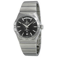 Omega Constellation Stainless Steel Mens Watch 123.10.38.22.01.001