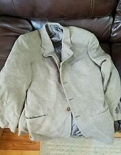 Armani Collezioni Neiman Marcus Men's Green Wool Jacket 46L