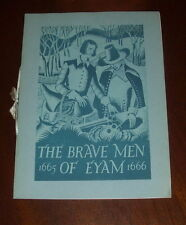 ' THE BRAVE MEN OF EYAM :  1665 - 1666 : (Radio Times) : Derbyshire/Plague: 1936