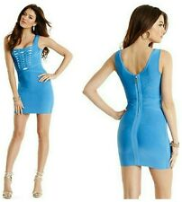 �� GUESS BY MARCIANO EVINNA BANDAGE DRESS ��