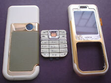 new nokia 7360 cover housing keypad  set yellow
