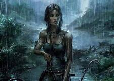 TOMB RAIDER XBOX ONE PS4 PS3 GAME PC A3 ART PRINT POSTER GZ5532