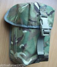 NEW - Genuine MoD Issue MTP Camo UGL Pouch (8 Rounds) - ideal Utility Size Pouch