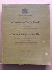 A Development Plan For Uganda And The 1948 Revision Of The Plan By Worthington