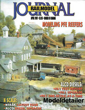 Railmodel Journal Apr.97 ALCO Diesels FA1 PA1 PFE Reefers Hayden Tipple MP UP