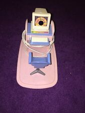 """UNUSED 1997 BARBIE COMPUTER, DESK, CHAIR & BASE from the """"TALK WITH ME"""" SET"""