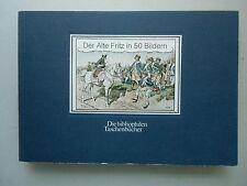 Der Alte Fritz in 50 Bildern bibliophilen Taschenbücher 1981 Uniformen 1895