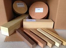 Woodturning Selection Gift Box - Bowl & Square Wood Turning Blanks Christmas Box