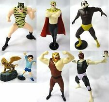 Tiger Man Mask Uomo Tigre Japan Figure SR COLLECTION PT.2 SET X6 GASHAPON ANIME