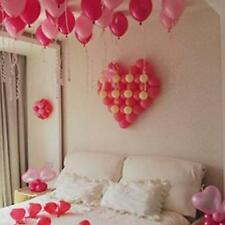 Romantic Heart-Shaped Balloon Grid For Valentine's Day Home Decoration Supplies