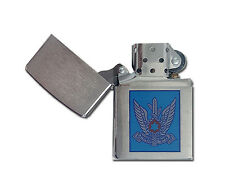 ZIPPO lighter 200 ISRAELI MILITARY 7 WI Brushed Chrome Air Force and Space Arm