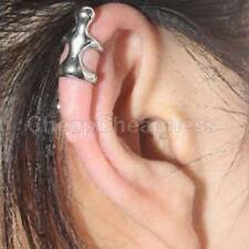Upper Helix Cartilage Earring Climbing Man Naked Climber Ear Cuff Clip Silver