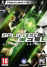 Tom Clancy's Splinter Cell Ultimate Pandora Tomorrow Chaos Theory Double Agent