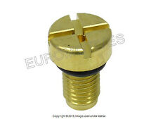 BMW Cooling System Bleeder Screw BRASS made in USA radiator drain stud bolt
