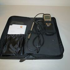 TESTO 425 COMPACT THERMAL ANEMOMETER W/ CASE FROM USA