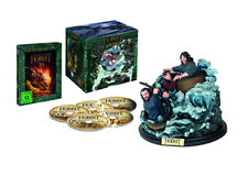 The Hobbit: The Desolation of Smaug NEW Blu-Ray 5-Disc Set & Barrel Ride Statue