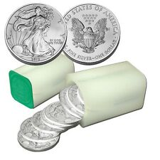 ESTADOS UNIDOS LIBERTY SILVER EAGLE USA DOLLAR 2012 ROLL - DOLAR PLATA x 12