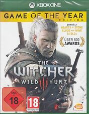The witcher 3-Wild Hunt-Game of the Year Edition GOTY-Xbox One-nuevo & OVP