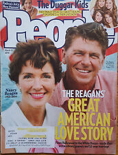 PEOPLE MAGAZINE MARCH 21 2016 THE REAGANS GREAT AMERICAN LOVE STORY DUGGAR Kids