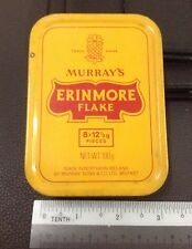 MURRAY'S ERINMORE FLAKE Pineapple Logo Pipe Tobacco Tin Container
