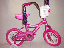 Bicycle Girls 12 in., 2 Wheel  with Adjustable Training Wheels - Pink