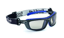 Bolle BAXTER 40278 CSP Safety Glasses Goggles anti-scratch Platinum Black/Blue