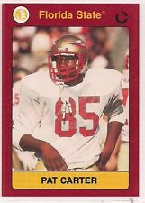 1991 Collegiate Collection Pat Carter Florida State