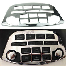 Chrome ABS Control Radio Accent Panel Trim for Honda Goldwing 2001-2011 GL1800