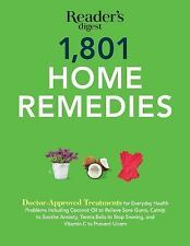 Save Time, Save Money: 1,801 Home Remedies : Doctor-Approved Treatments for...