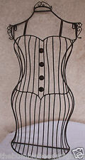Curvy Dress Form Metal Wall Decor Display Mannequin Fashion Wall Art Sewing Sew