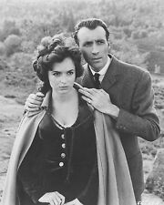 "Marla Landi / Christopher Lee Hammer Film 10"" x 8"" Photo"
