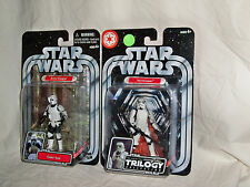 Star Wars OTC Original Trilogy Collection STORMTROOPER & SCOUT TROOPER MOC