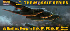Hong Kong Models 1/32 De Havilland Mosquito Mk.IV Plasti Model Kit 01E15