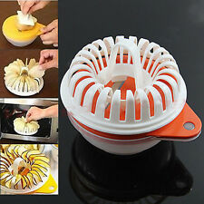 Microwave Apple Potato Vegetable Fruit Crisp Chip Slicer Maker Kitchen Craft DIY