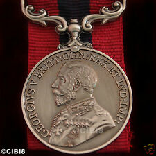 DISTINGUISHED CONDUCT MEDAL GEORGE 5TH BRITISH ARMY AWARD FOR BRAVERY COPY UK