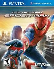 PS VITA PSVITA GAME THE AMAZING SPIDER-MAN BRAND NEW ORIGINAL SEALED