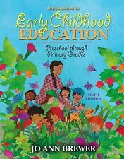 Introduction to Early Childhood Education: Preschool Through Primary Grades (6th