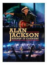 ALAN JACKSON New Sealed 2017 LIVE RED ROCKS COLORADO CONCERT DVD