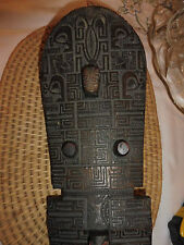 Antique Polynesia, Marquesas CLUB Incised WOOD Carving Sculptor 1890s