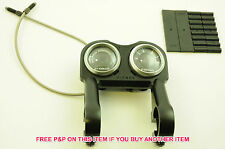 SET OF SHIMANO CI DECK DIALS+HANDLEBAR MOUNT 6,12,18 SPEED REVOSHIFT RS31/41/43